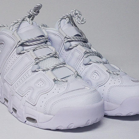 NIKE AIR MORE UP TEMPO モアテン TRIPLE WHITE
