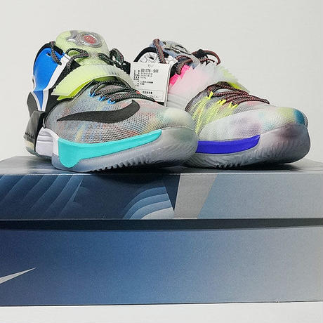 new concept 18f45 bb55c ... NIKE KD 7 SE WHAT THE MULTICOLOR BLACK HORIZON 801778-944 US11 ナイキ ホワットザ