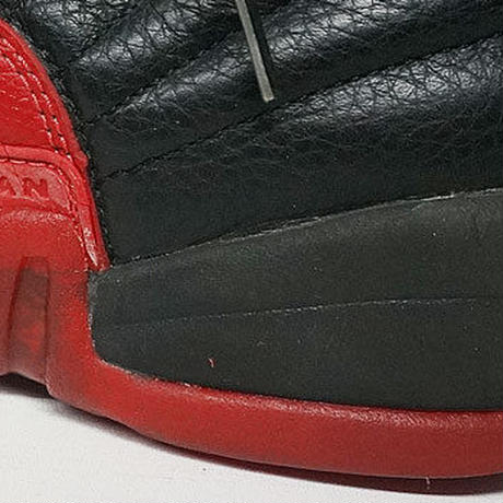 AIR JORDAN 12 BLACK-VARSITY RED 130690-061 28.5CM 96年製 中古
