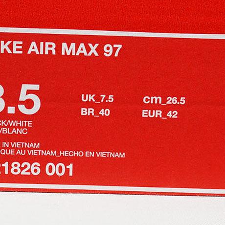 NIKE AIR MAX 97 0G BLACK 921826-001 US8.5 ナイキ エアマックス