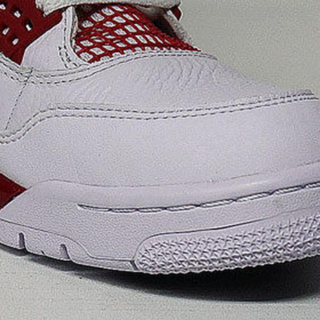 AIR JORDAN 4 RETRO WHITE/BLACK-GYM RED 308497-106 US10 NIKE ナイキ エアジョーダン