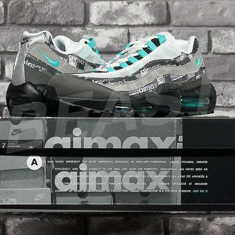 bbf013109a NIKE AIR MAX 95 ATMOS WE LOVE NIKE CLEAR JADE AQ0925-001 ナイキ エアマックス ...
