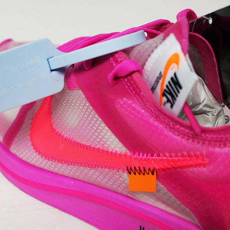 NIKE OFF-WHITE THE TEN ZOOM FLY PINK AJ4588-600 ナイキ ズームフライ