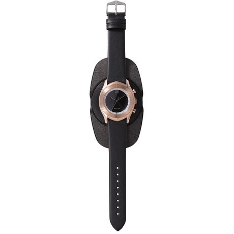 ALTAIR Series  Black R - Black Calf Leather Strap