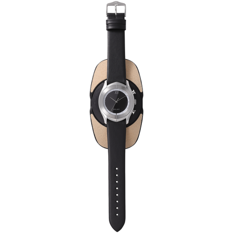 ALTAIR Series  Black S - Black Calf Leather Strap