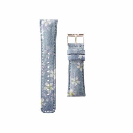 Blossom Denim Light Belt
