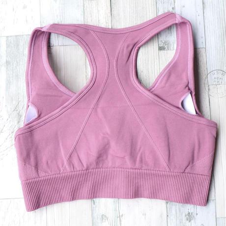 送料無料♡即納 【セットアップ】シームレス×ピンク ヨガ トレーニング フィットネス ウェア
