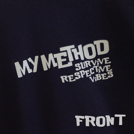 SWEAT SHiRT 12.0oz - MY METHOD - #NAVYBLUE x GRAY