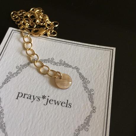 Shell coin bracelet