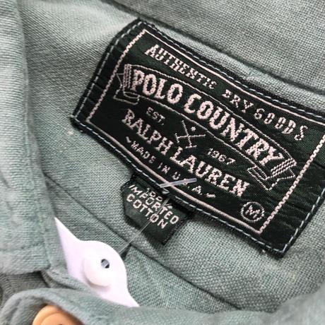 USA製 POLO COUNTRY 長袖シャツ