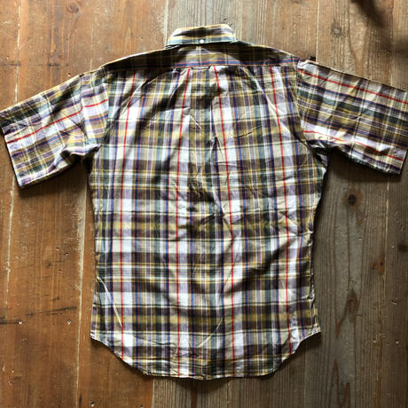 60's〜McGREGORビンテージ半袖シャツ