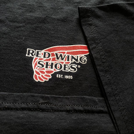RED WING プリントTシャツ
