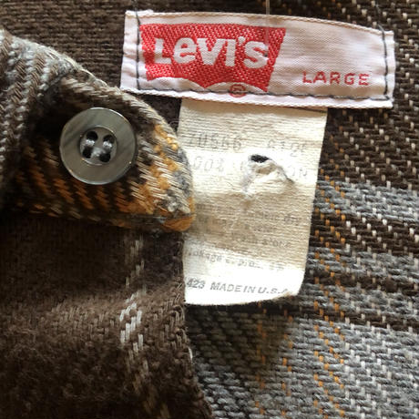 70's Levi's シャツジャケット