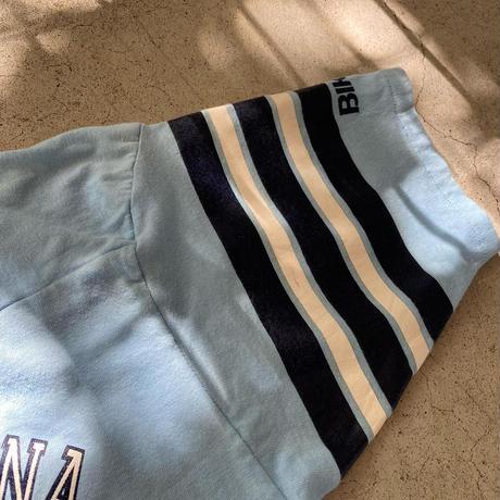 USA製ショート丈フットボールTシャツ