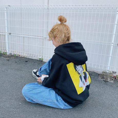 ASTRONAUTS03 ショートヘア女の子パーカー