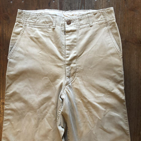 Vintage U.S.ARMY M-45 Chino Trousers