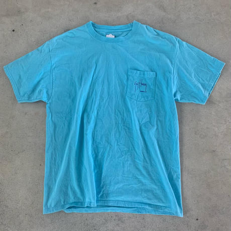おさかなプリントポケットTシャツ