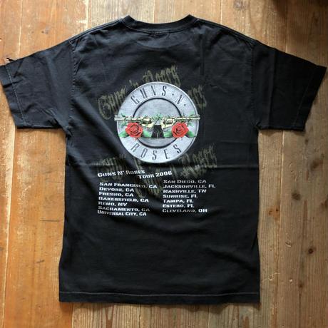 2006年 GUNS AND ROSES Tシャツ