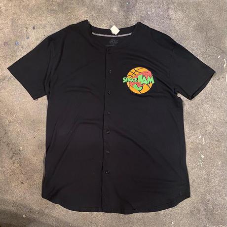 スペースジャム ベースボールシャツ