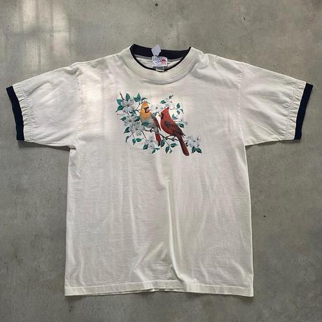 USA製重ね着風ビッグTシャツ