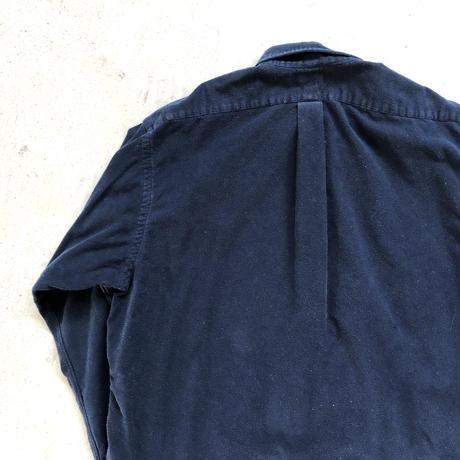 Ralph Lauren コットンシャモアクロスシャツ