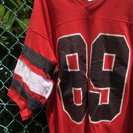 〜90年代USA製 LOGO7 フットボールT