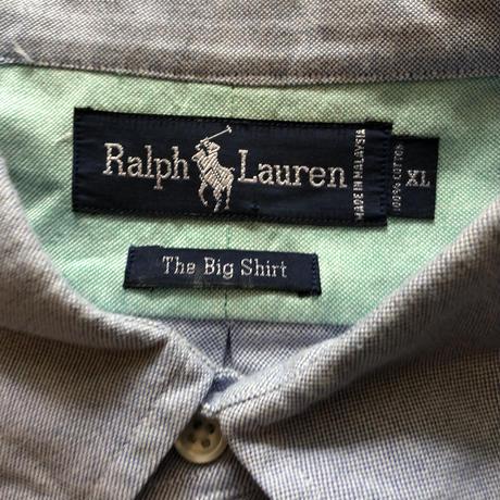 RALPHLAUREN 長袖BIGシャツ