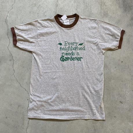 80年代ビンテージリンガーTシャツ L