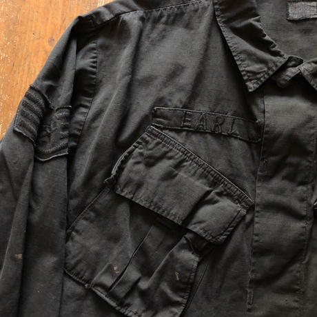 後染めブラックMilitary 60's COAT MAN'S COMBAT TROPICAL 4th type