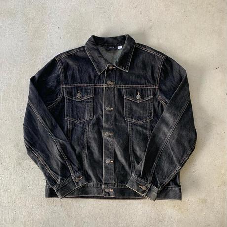 ブラックデニムジャケット