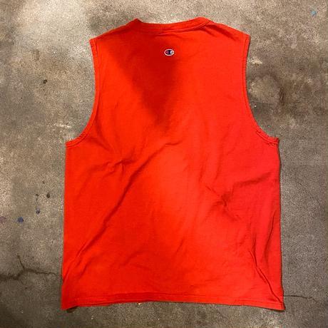CHAMPIONノースリーブTシャツ