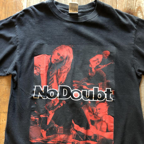 2002 TOUR NO DOUBTバンドTシャツ