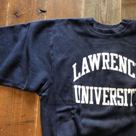 90'sUSA製LAWRENCE UNIVERSITYチャンピオンリバースウィーブXL