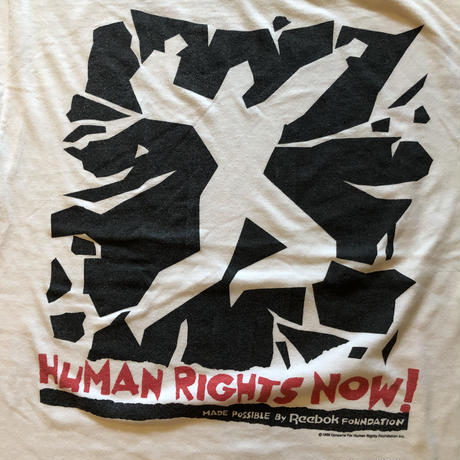 HUMAN RIGHTS NOW! WORLD TOUR Tシャツ