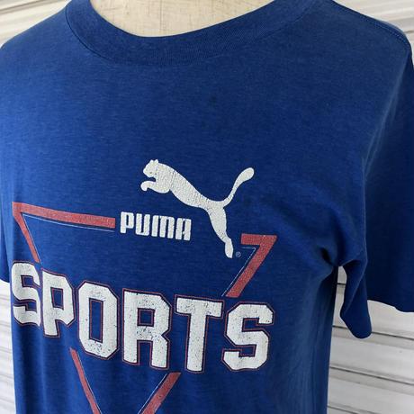 80's  PUMA プリントTシャツ
