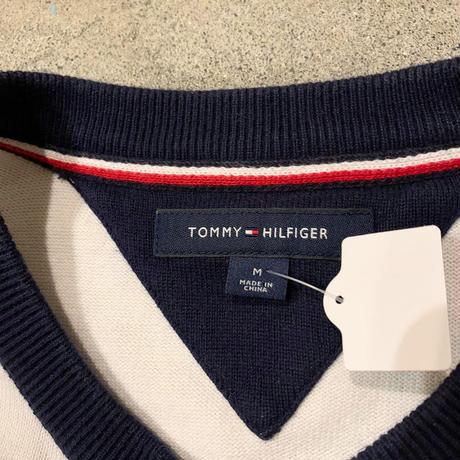 TOMMY HILFIGER薄手コットンニット