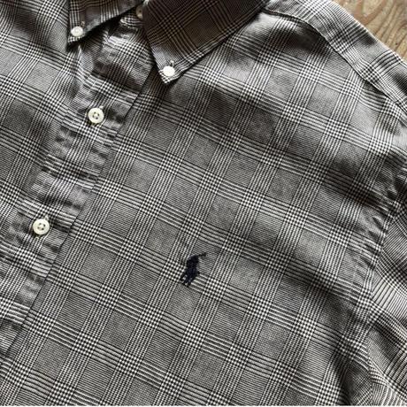 Ralph Lauren グレンチェック柄長袖シャツ
