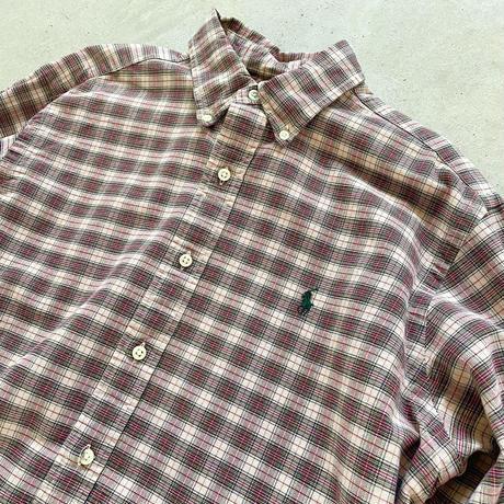Ralph Laurenチェックシャツ