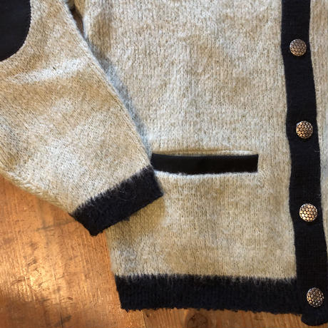 60's〜Vintage mohair cardigan