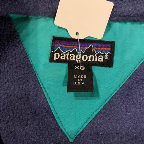 USA製Patagonia 襟付きフリースプルオーバー