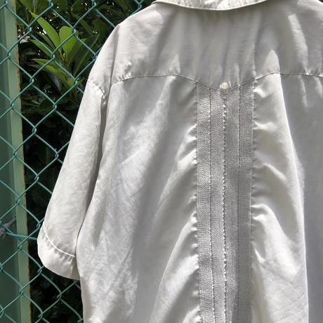 半袖キューバシャツ  グレー
