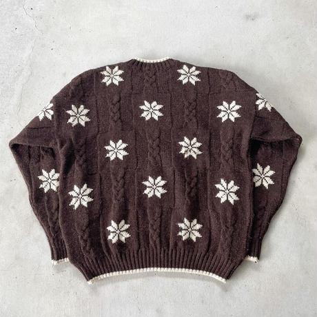 イングランド製ノルディック柄セーター