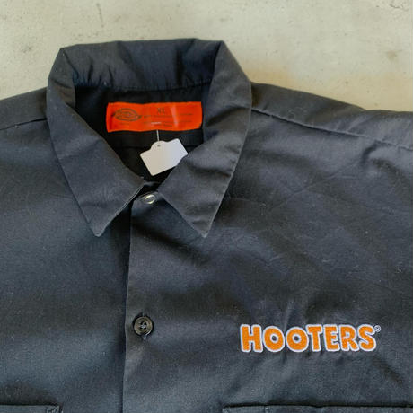 DickiesボディHOOTERSワークシャツ黒