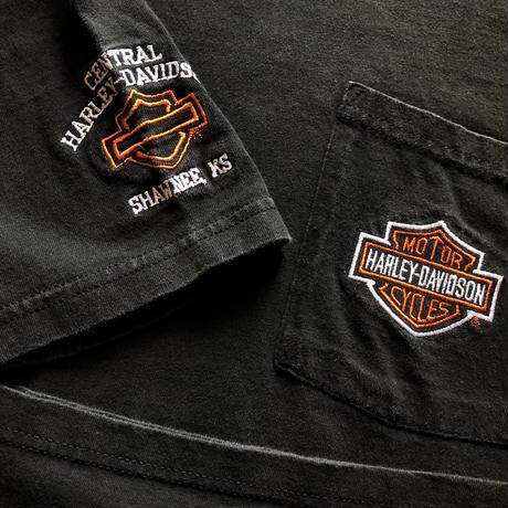 USA製 90's〜HARLEY DAVIDSON プリントTシャツ