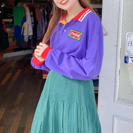 USA製 コカ・コーララガーシャツ