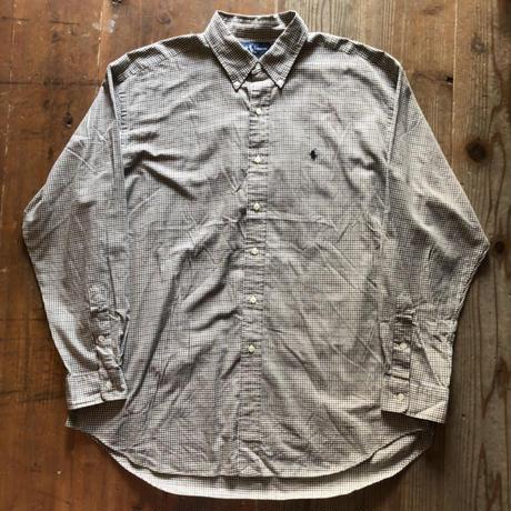 Ralph Lauren長袖チェックシャツ BLAKE