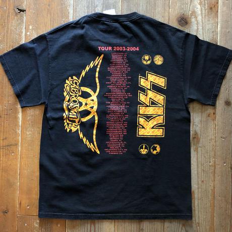 AEROSMITH & KISS バンドTシャツ
