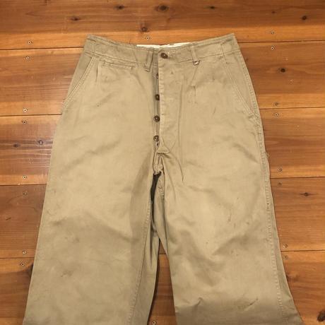 ②Vintage U.S.ARMY M-45 Chino Trousers
