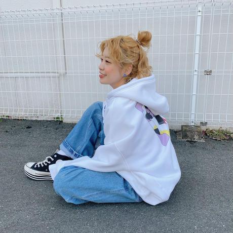 ASTRONAUTS03 ロングヘア女の子パーカー