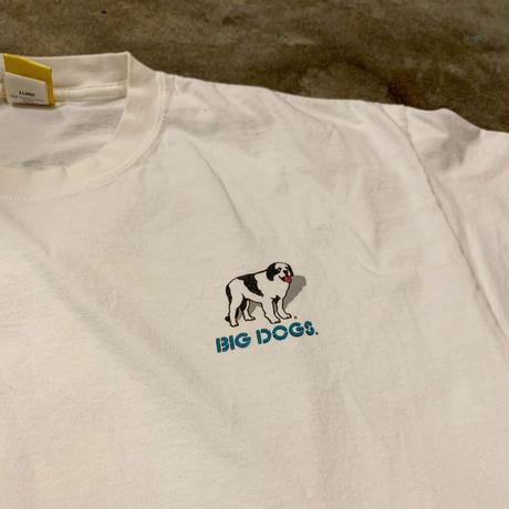 BIG DOGS 両面プリントTシャツ